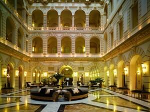 Budapest Boscolo lobby3