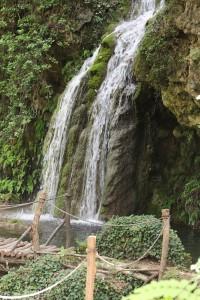 France-Provence-Domaine de la Baume waterfall