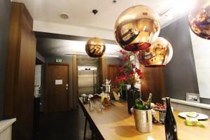 Emblem Hotel communal kitchen