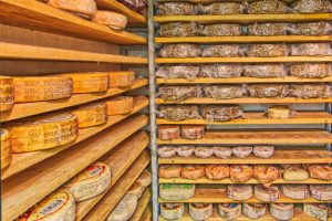 Cheese galore, Italy