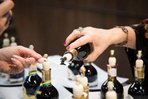 Vinegar tasting at Eataly World Bologna
