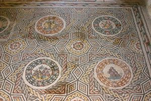 Villa Romana del Casale, Fruit Mosaic