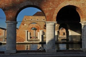Italy, Venice, Arsenale - Biennale site