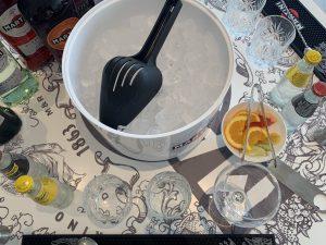 Martini cocktail making at Terrazza Martini