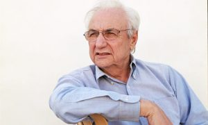Canadian-American architect, Frank Gehry