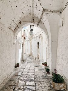 Walk through the whitewashed town of Ostuni