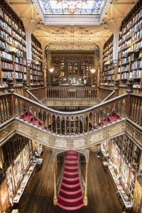 Livraria Lello - inspiration for JK Rowling's Harry Potter