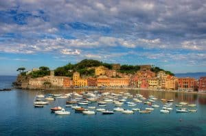 The Bay of Silence in Liguria, Italy