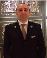 Fabio Menta Les Clefs d'Or Italia Concierge, Hotel L'Orologio, Florence