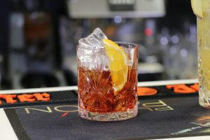 The Negroni, a local Florentine drink