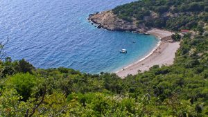 Sveti Ivan Beach on the island of Cres is one of the most beautiful beaches in the entire Cres-Lošinj archipelago