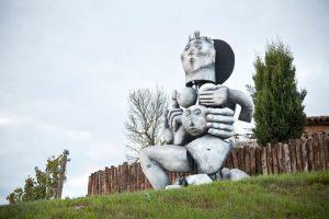 The Michele Chiarlo Winery hosts an open air art museum, Art Park La Court