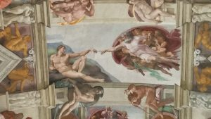 The Creation of Adam in the Sistine Chapel, Vatican City