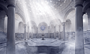 Inside Cağaloğlu Hamami, Istanbul