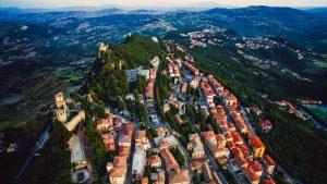 San Marino - aerial view