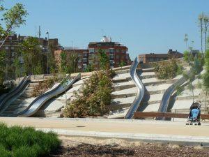 Madrid Río Park Slides
