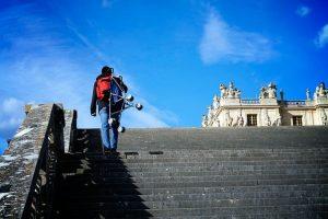 Umbrella Stroller at Versailles France