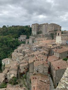 The Tuscan town of Sorano