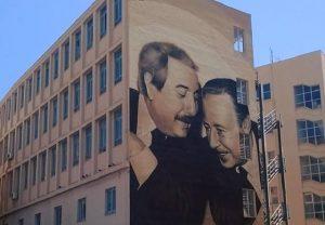 Mural of Falcone and Borsellino © Salvatore Ciambra