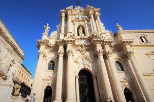 Ortigia Cathedral's Baroque Facade