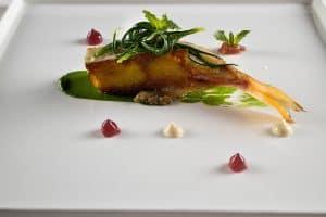 Santa Elisabetta's tasting menu