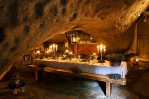 Grotto Restaurant Night